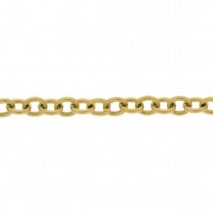 Corrente Ouro 9,10mm de Espessura com Elo de 11mm