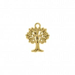 Pingente Ouro Árvore da Vida 22mm
