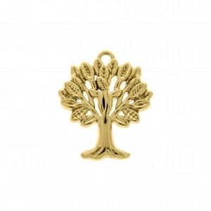 Pingente Ouro Árvore da Vida 30mm