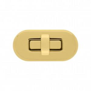 Fecho Oval Ouro 41mm para Bolsa