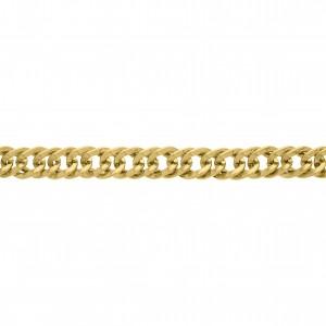 Corrente Ouro 9.5mm de Espessura com Elo de 13.5mm