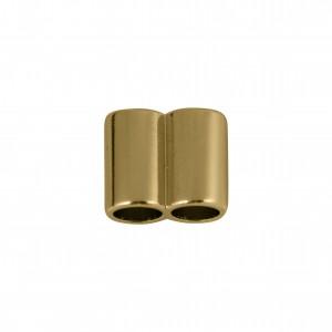 Tubo Duplo Ouro 15mm