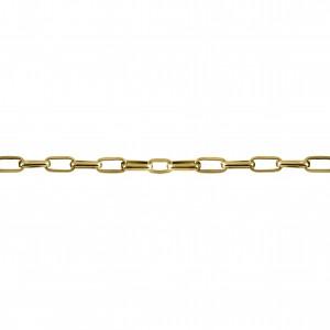 Corrente Ouro 9,20mm de Espessura com Elo de 18,50mm