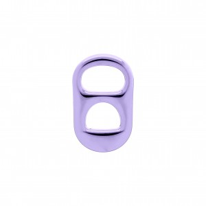 Pingente Lacre Latinha Violet Gloss 26mm