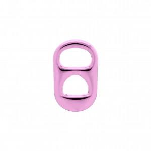 Pingente Lacre Latinha Pink Gloss 26mm