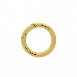 Chaveiro Redondo Ouro 42mm