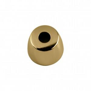 Ponteira Cônica Ouro 14mm
