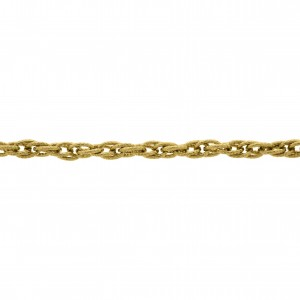 Corrente Ouro 0,80mm de Espessura com Elo de 6,00mm