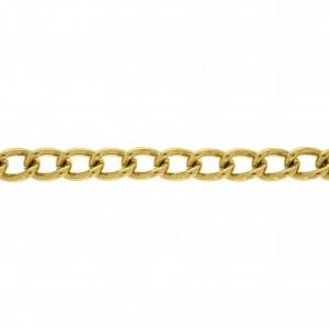 Corrente Ouro 1,50mm de Espessura com Elo de 9,00mm