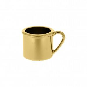 Pingente Caneca Ouro 14mm