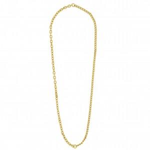 Colar Montado Ouro 40cm