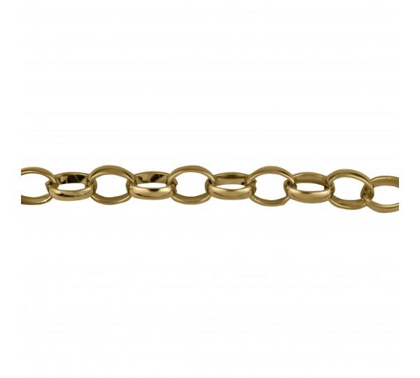 Corrente Ouro 3,50mm de Espessura com Elo de 11mm