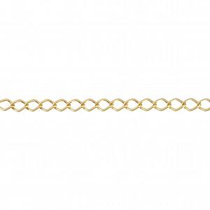 Corrente Ouro 1,70mm de Espessura com Elo de 12,50mm