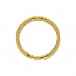 Argola para Chaveiro Ouro 12mm