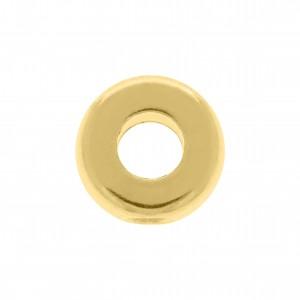 Ponteira Redonda Ouro 11mm