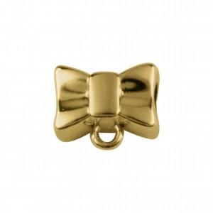 Berloque Laço Ouro 14mm