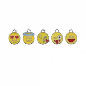 Conjunto Emoticons Níquel