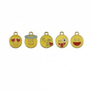 Conjunto Emoticons Ouro