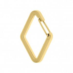 Mosquetão Losango Ouro 50mm