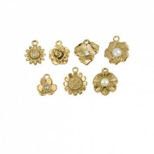 Conjunto Flores Ouro