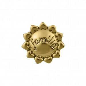 Passador Redondo Família Ouro 12mm
