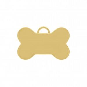 Pingente Ouro Osso 35mm