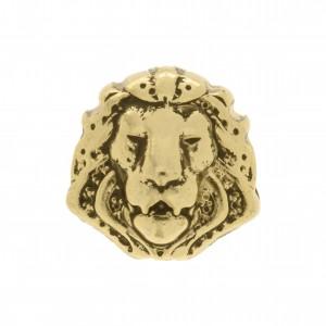 Berloque Leão Ouro 13mm