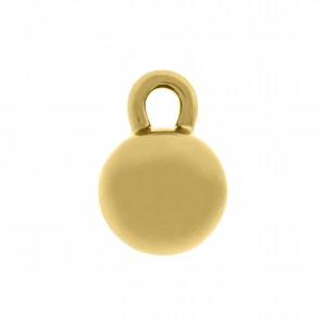 Pingente Redondo Ouro 18mm
