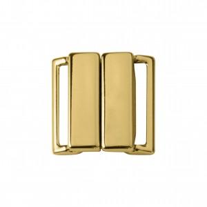 Fechamento Imã Retangular Ouro 25mm