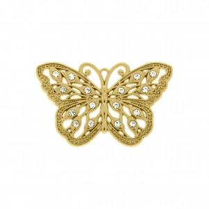 Pingente Ouro Borboleta 49mm