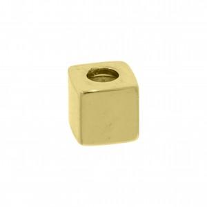 Ponteira Quadrada Ouro 5mm