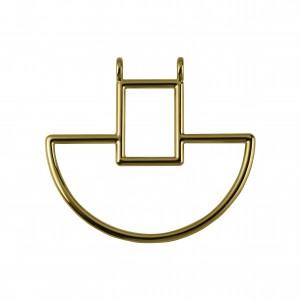 Base para Colar Ouro 60mm