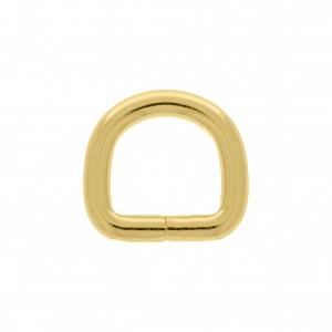 Meia Argola Ouro 25mm