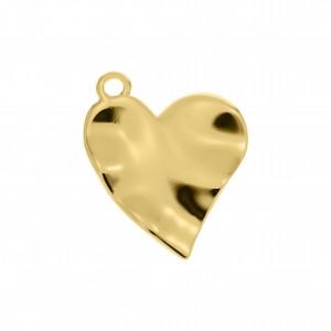 Pingente Coração Ouro 25mm