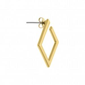 Base para Brinco Triangular Ouro 20mm