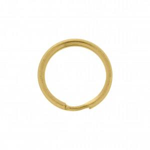 Argola para Chaveiro Ouro 21mm