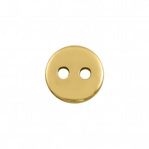 Botão Redondo Ouro 9mm