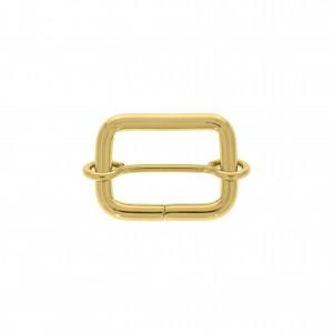 Argola para Bolsa Quadrada com Regulador Ouro 25mm