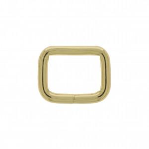 Argola para Bolsa Quadrada Ouro 30mm