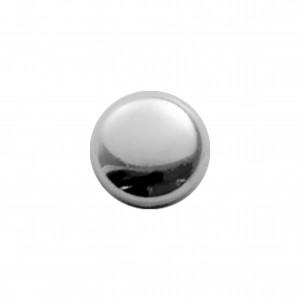 Botão Redondo Níquel 11mm