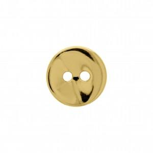 Botão Redondo Ouro 14mm