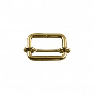 Argola para Bolsa Quadrada com Regulador Ouro 33mm