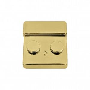 Fecho para Bolsa Ouro Quadrado 40mm