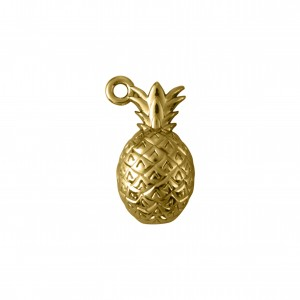 Pingente Abacaxi Ouro 21mm