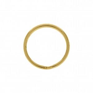 Argola para Chaveiro Ouro 35mm
