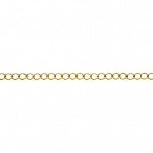 Corrente Ouro 0,65mm de Espessura com Elo de 5,20mm