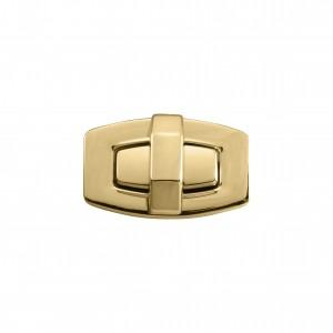Fecho Retangular Ouro 45mm para Bolsa