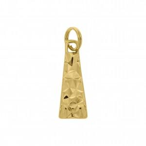 Puxador Ouro Trabalhado 25mm com Mola