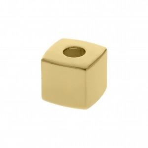 Ponteira Quadrada Ouro 10mm
