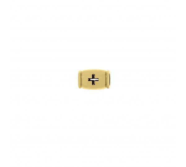 Entremeio Cruz Ouro 12mm